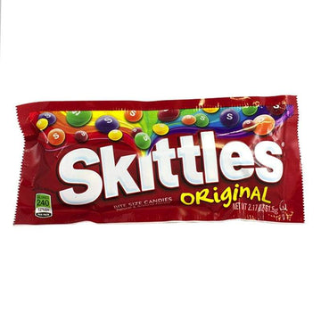 Skittles Bite Size Original Fruit Candies - 2.17 oz.