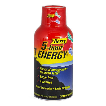 5-Hour Berry Energy Drink - 1.93 oz.