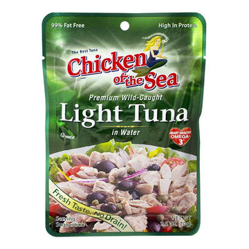 Chicken of the Sea Light Tuna - 2.5 oz. pouch