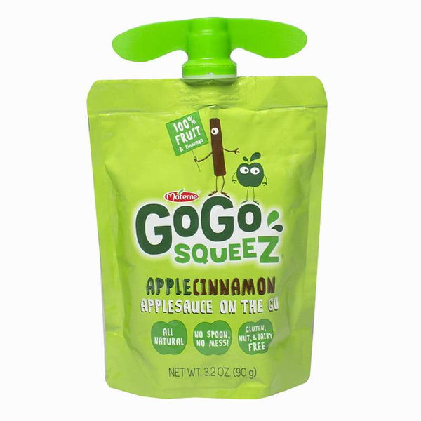 GoGo Squeez Apple Cinnamon Sauce on the Go - 3.2 oz.
