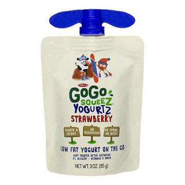 GoGo Squeez Yogurtz Strawberry on the Go - 3 oz.