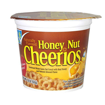 Honey Nut Cheerios Cereal in a Cup - 1.8 oz.