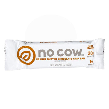 No Cow Peanut Butter Chocolate Chip Protein Bar - 2.12 oz.