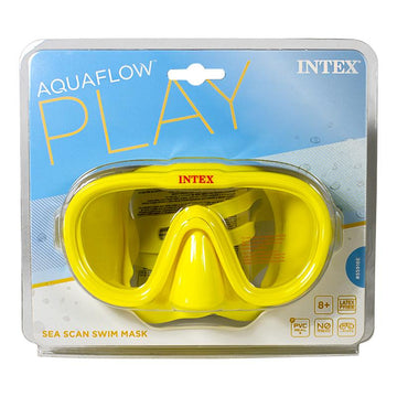 Intex Aquaflow Sea Scan Swim Mask - Ages 8 and Up