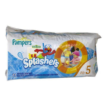 DISCONTINUED - Pampers Splashers Swim Pants Size 5 - Pack of 11
