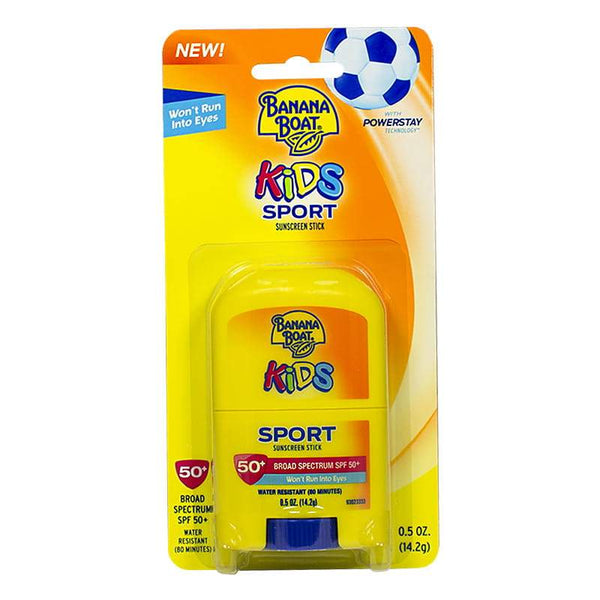 Banana Boat Kids Sport Sunscreen Stick SPF 50+ - 0.5 oz.