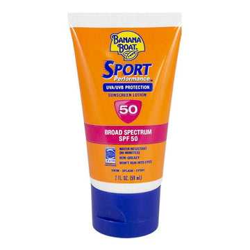Banana Boat Sport Sunscreen Lotion SPF 50 - 2 oz.