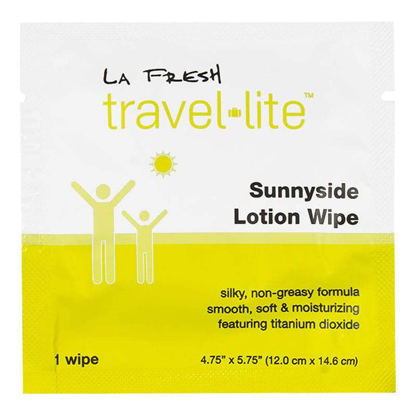 La Fresh Sunnyside Lotion Wipe