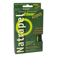Natrapel 8 Hour Insect Repellent Wipes - Individually Wrapped Wipe