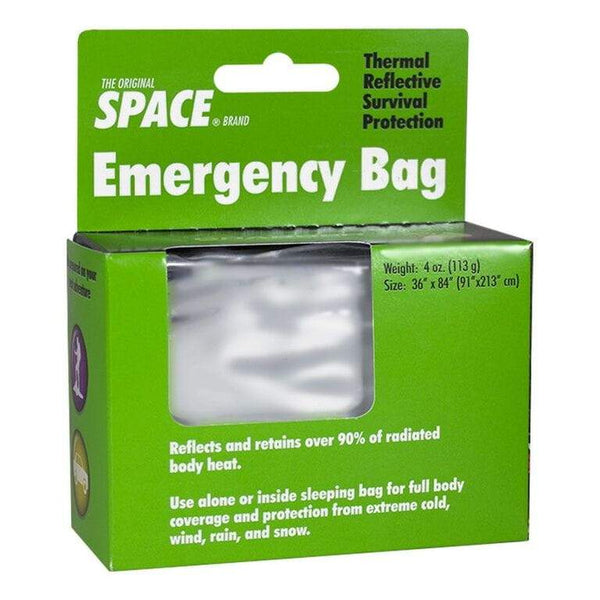 Space Brand Emergency Thermal Bag - 56 in. x 84 in.