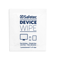 Safetec Device Cleaning Alcohol Wipes, Individually Wrapped