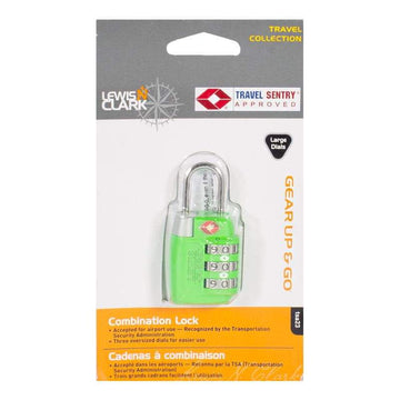 Lewis N. Clark T.S.A Approved Combination Luggage Lock