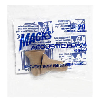 Mack's Acoustic Foam Earplugs - Pack of 1