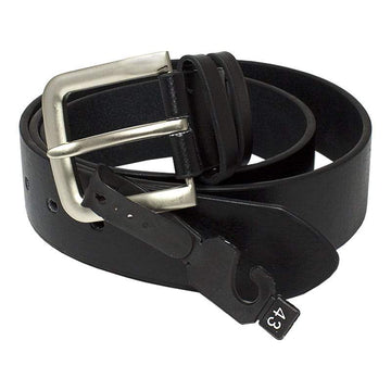 Black Leather Belts - Assorted Sizes