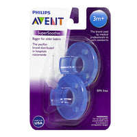 Avent Super Soothie Pacifier 3+ months- Card of 2