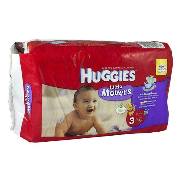 DISCONTINUED - Huggies Little Movers Diapers Size 3 - Pack of 14