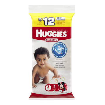 Huggies Snug & Dry Diapers Step 3 - Pack of  3