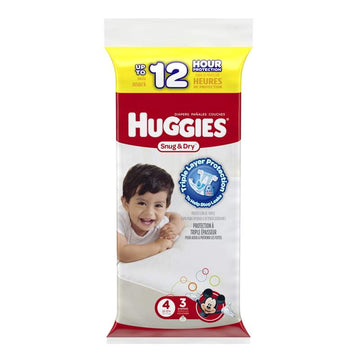 Huggies Snug & Dry Diapers Step 4 - Pack of  3