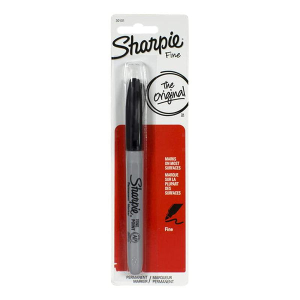 Sharpie Fine Black Marker - Card of 1