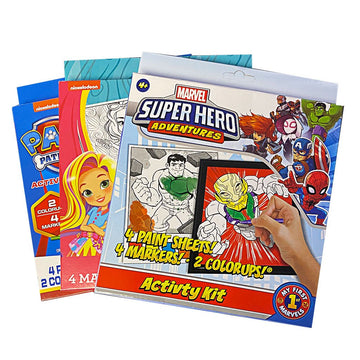Activity Books - Assorted Styles & Sizes