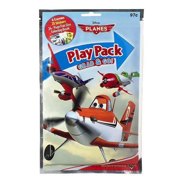 DISCONTINUED - Disney Grab & Go Play Pack - Book, Crayons & Stickers