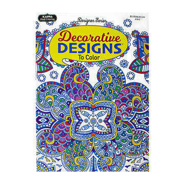 Adult Designer Series Coloring Book - Assorted Styles