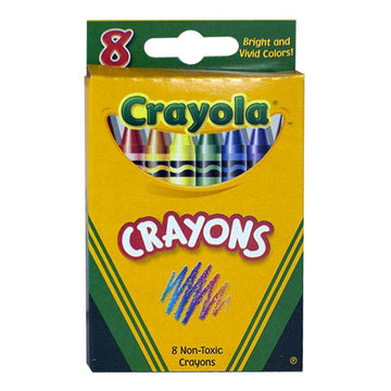 Crayola Crayons Travel Size - Box of 8