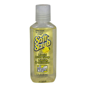 Soft Scrub Liquid Dish Soap - 2 oz.