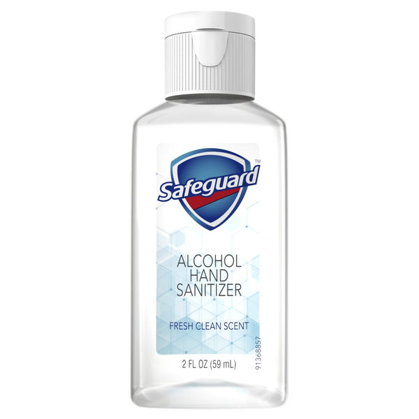 Safeguard Alcohol Hand Sanitizer, 2oz