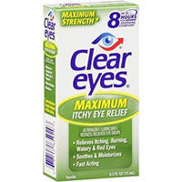 zzDISCONTINUED - Clear Eyes Maximum Itchy Eye Relief - 0.5 oz.