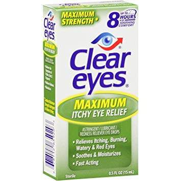 Clear Eyes Maximum Itchy Eye Relief - 0.5 oz.