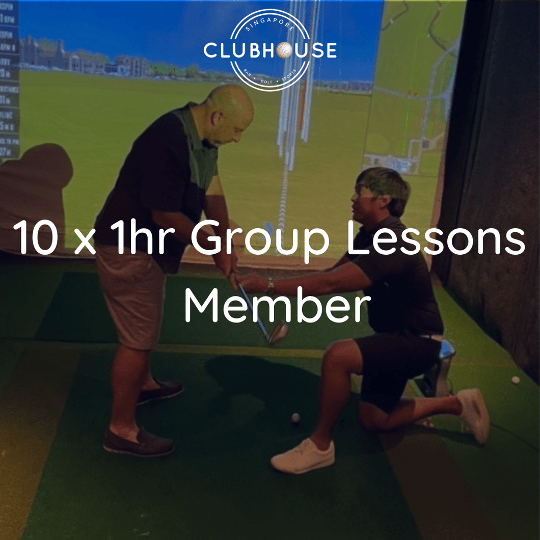 10 x Group Lessons - Members Package (2 Pax)