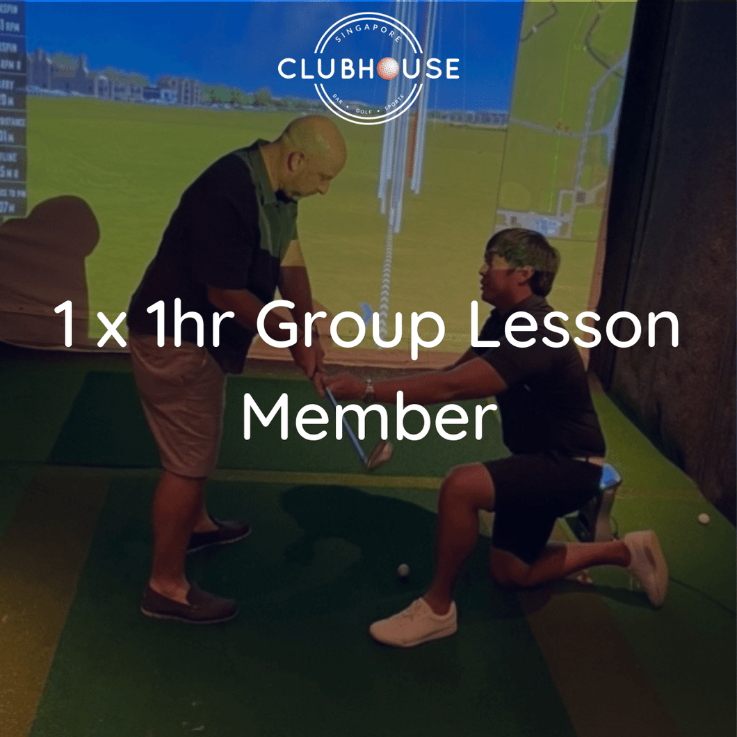 1 x Group Lesson - Member (2 Pax)