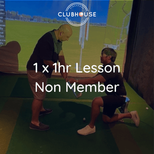 1 x Non-Member Golf Lesson