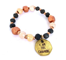 Load image into Gallery viewer, I Am the Change Bracelet