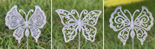 Load image into Gallery viewer, Steel Butterfly Garden Stakes