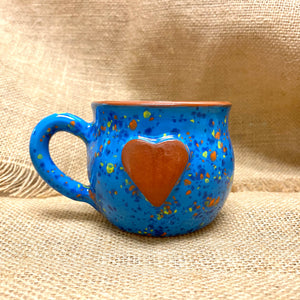 Calliope Heart Mug Blueberry Burst