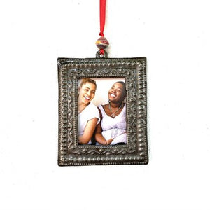 Metal Picture Frame Ornament