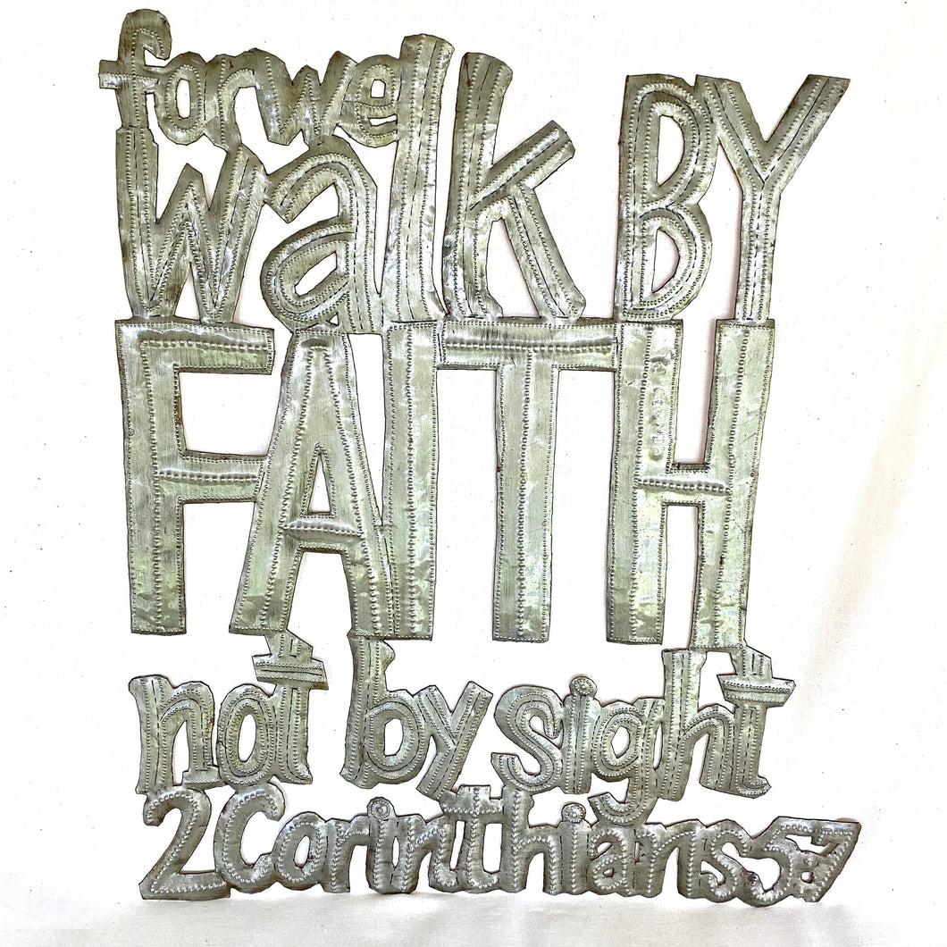 Metal Walk by Faith