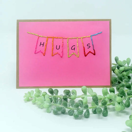 Banner With Words Greeting Cards