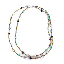 Load image into Gallery viewer, Colore Necklace Aqua