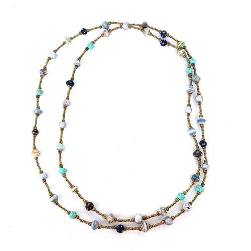 Colore Necklace Aqua