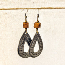 Load image into Gallery viewer, Drop Charm Earrings Bronze