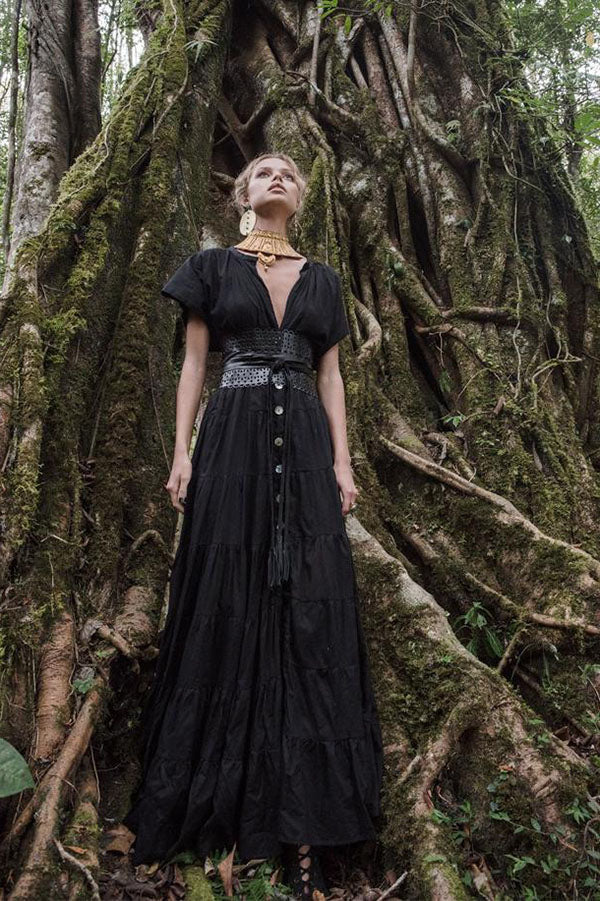 Adella Rimba Maxi Dress | Black Book Fashion