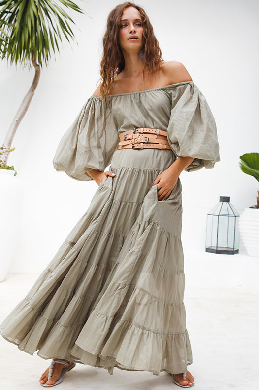Brielle Rumba Maxi Dress | Black Book Fashion