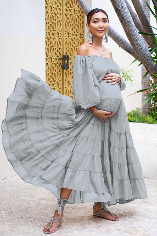 Brielle Rumba Maxi Dress - Maternity | Black Book Fashion