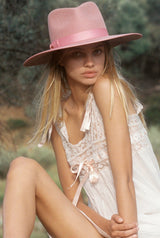 Rose Rancher Hat | Black Book Fashion