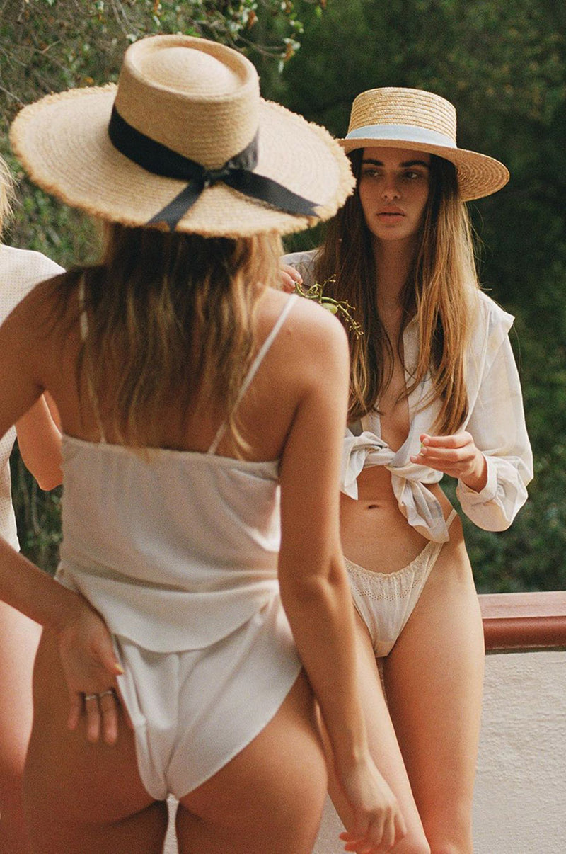 The Ventura Straw Hat | Black Book Fashion