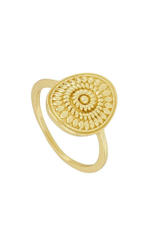Flower Inca Ring | Black Book Fashion