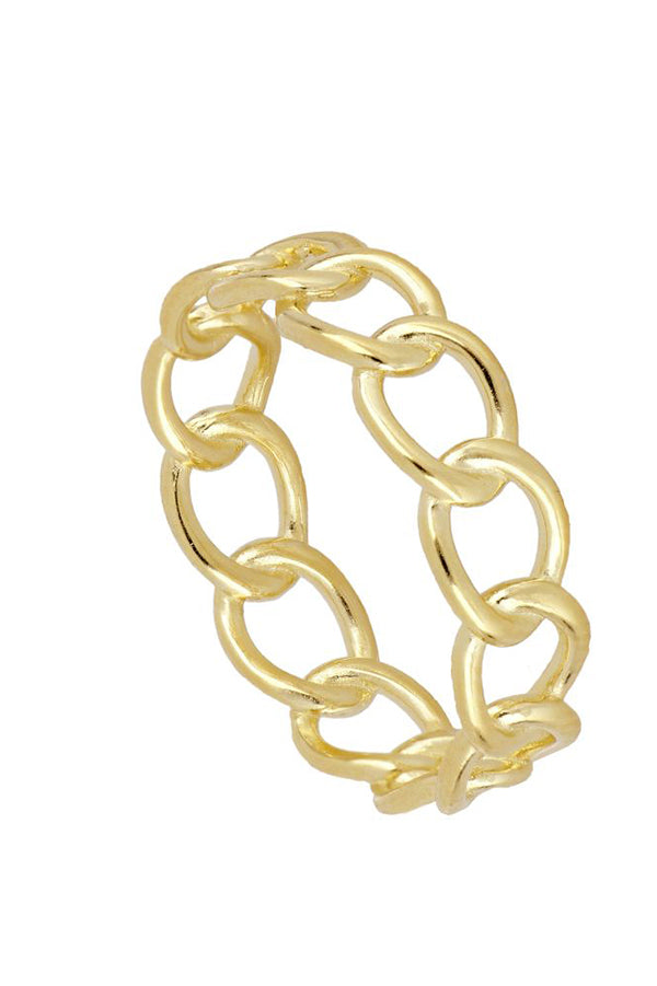 Sienna Chain Ring | Black Book Fashion